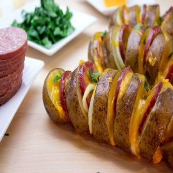 potatis i ugn med ost